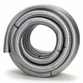 Flexibel Enkelgedraaid Ø80mm Pijp 100cm#DH122080