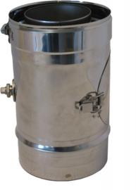 Thermovent DWL Ø100/150mm 25 cm pijp met meetpunt en inspectieluik