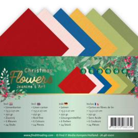 Linnenpakket - 4K - Jeanines Art - Christmas Flowers