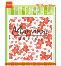Marianne D Embossing Folder Blossom - DF3446