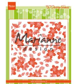 Marianne D Embossing Folder Blossom - DF3446