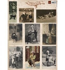 Marianne Design Tiny's Vintage Christms Cards 2 VK9538