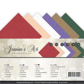 Linnenpakket - A5 - Jeanines Art - Christmas Classics