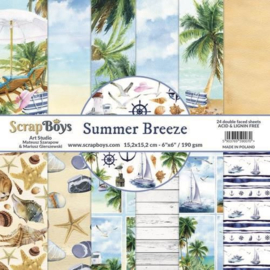Scrap Boys -  Summer Breeze - Paperpad  24 vel