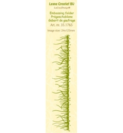 LeCreaDesign Embossing Folder 35.1765 Border Grass
