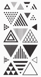 My Favorite Things - Clear Stamps - Trendy Triangles