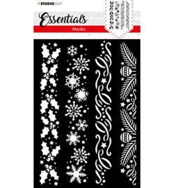 Studio Light- Mask Christmas Vertical Borders Essentials nr.37