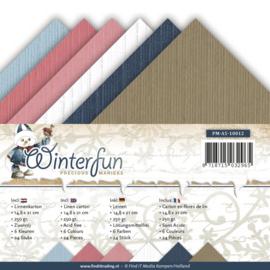 Linnenpakket - Vierkant - Precious Marieke - Winterfun