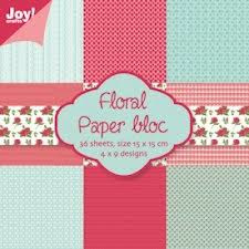 Joy!Crafts Paper Bloc Floral - 6011/0013