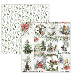 Studio Light - Scrap Christmas Collection nr.65