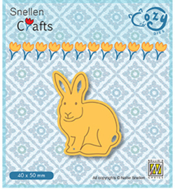 Nellie Crafts Cozy Dies - Rabbit - SCCOD014