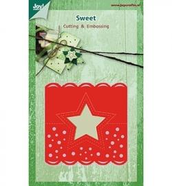 Joy! Crafts Sweet Christmas Kopkaartje Sneeuw 6002/0392