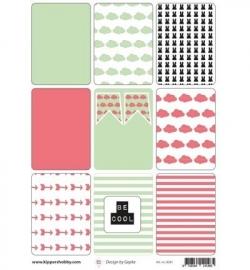 Rosa Dotje A4 Cool Kids Cards Meisjes 8281