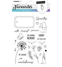 Studio Light - Clear Stamps - Favourites nr. 487
