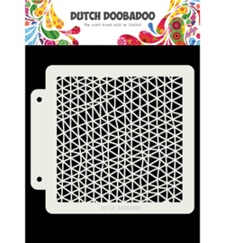 Dutch Doobadoo Mask Art - Triangle wave -  470.715.143