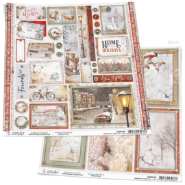 Ciao Bella -Memories of a Snowy Day - Cards - 30.5 x 30.5 cm - CBSS168