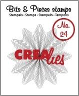 Crealies Bits & Pieces no. 24 Zigzags in zigzag