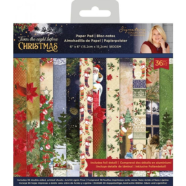 Crafter's Companion - Twas the Night Before Christmas - Paper Pad -15.2 x15.2  cm