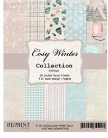 Reprint - Cozy Winter Collection - 15,2 x 15,2 cm.