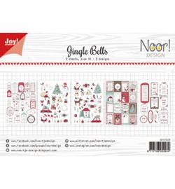 Joy!Crafts - Labelvellen - Noor - Jingle Bells-6011/0429