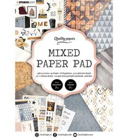 Studio Light - Mixed Paper Pad Pattern paper Essentials nr.4