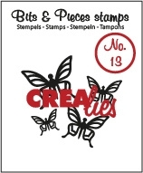 Crealies Clearstamps Bits&Pieces Stamps