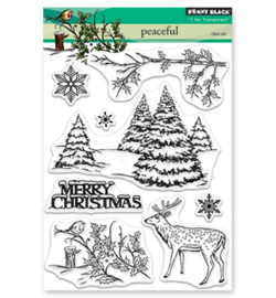 Penny Black Clear Stamp -  30-511 -  Peaceful
