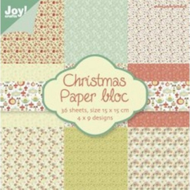 Joy!Crafts Paper Bloc Christmas - 6011/0017