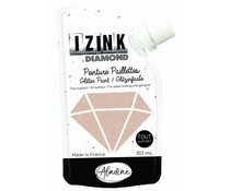 IZINK Diamond glitterverf/pasta - 80 ml, goud koper - 80824