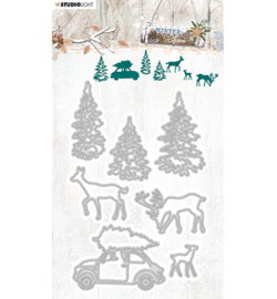 SL Cutting & Embossing Die Winter Charm, nr.326