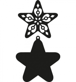 Marianne Design Craftable Filigree Star CR1284