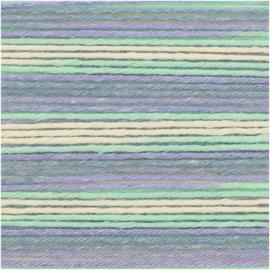 Rico Baby Cotton Soft Print dk 383040.031 Violet - Green