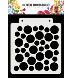 Dutch Doobadoo Mask Art -  Large Circle  -  470.715.147