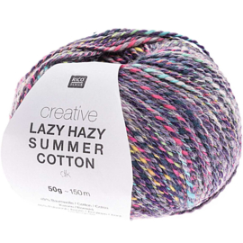Rico Creative Lazy Hazy Summer Cotton dk  -  Lila  - 383285.007