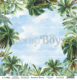 ScrapBoys Summer Breeze paper sheet DZ SUBR-02