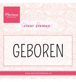 Marianne Design Clear Stamp CS0959  Geboren