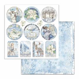Stamperia - Winter Tales - Paper - 30,5 x 30,5 cm