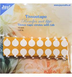 Joy!Crafts  - Tissuetape-rondjes met treklipje - Ø10 mm-6500/0104