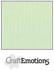 CraftEmotions Linnenkarton A4 Formaat 10 vel - Groen