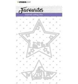 SL Cutting & Embossing Die  Layered Favourites nr 296