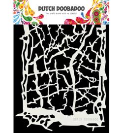DDBD Dutch Mask Art Grunge Lines  A5 - 470.715.164