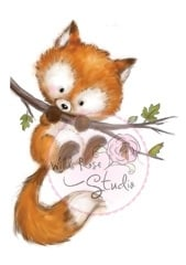 Wild Rose Studio`s Fox on Branch CL450
