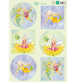 Marianne Design - A4 Knipvel Hetty - Fairies - HK1706