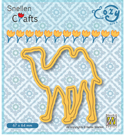 Nellie Crafts Cozy Dies - Camel  - SCCOD016