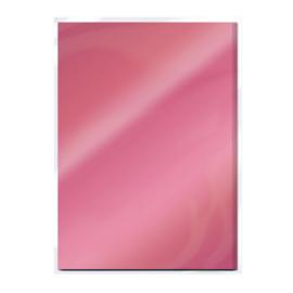 Tonic Studios Spiegelkarton A4  - Glans - Rose Platinum
