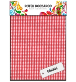 Dutch Doobadoo Red Check Sheets 400.903.011