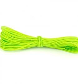 Wax Katoen Koord Rond Neon Groen 8314
