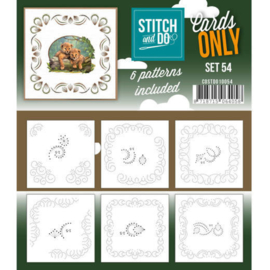 Stitch and Do - Cards Only Stitch  - 54