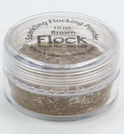 Sparkling Flocking Powder Brown 390192