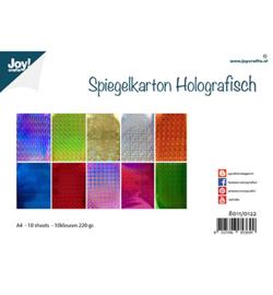 Joy!Crafts - Spiegelkarton Holografisch A4